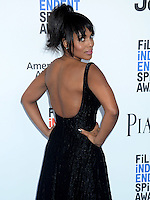 SANTA MONICA, 25.02.20-17 - SPIRIT-AWARDS - Kerry Washington durante Film Independent Spirit Awards em Santa Monica na California nos Estados Unidos (Foto: Gilbert Flores/Brazil Photo Press)
