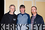 The great Sean Keane met locals l-r: Ali O'Riada, Sean Keane and John O'Shea before his concert at The Gathering in the Gleneagle Hotel on Saturday