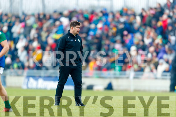 Manager Eamonn Fitzmaurice Kerry in action against  Galway in the Allianz Football League Division 1 Round 4 match between Kerry and Galway at Austin Stack Park, Tralee, Co. Kerry.