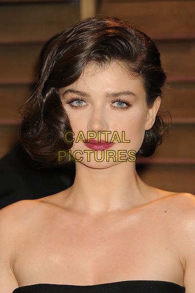 WEST HOLLYWOOD, CA - MARCH 2: Eve Hewson at the 2014 Vanity Fair Oscar Party in West Hollywood, California on March 2, 2014. <br /> CAP/MPI/mpi20<br /> &copy;mpi01/MediaPunch/Capital Pictures