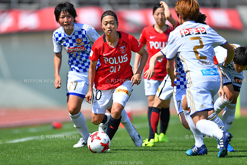 「/Kozue Ando (Reds Ladies), <br /> JUNE 17, 2017 - Football / Soccer : <br /> Plenus Nadeshiko League Cup 2017 Division 1 <br /> match between Urawa Reds Ladies 0-0 Vegalta Sendai Ladies <br /> at Saitama Urawa Komaba Stadium in Saitama, Japan. <br /> (Photo by MATSUO.K/AFLO SPORT)