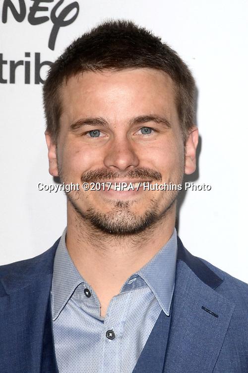 LOS ANGELES - MAY 21:  Jason Ritter at the 2017 ABC/Disney Media Distribution International Upfront at the Walt Disney Studios on May 21, 2017 in Burbank, CA