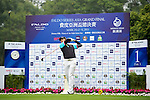 Tao Huang of Chinese Taipei tees off on the 1st hole during the Round 1 of the Faldo Series Asia Grand Final at Mission Hills on March 2, 2011 in Shenzhen, China. Photo by Raf Sanchez / Faldo Series