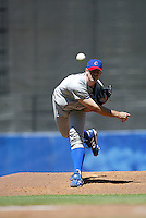 Mark Prior In a MLB game played at Dodger Stadium between the Los  Angeles Dodgers and the Chicago Cubs where the Cubs beat the Dodgers 3-1
