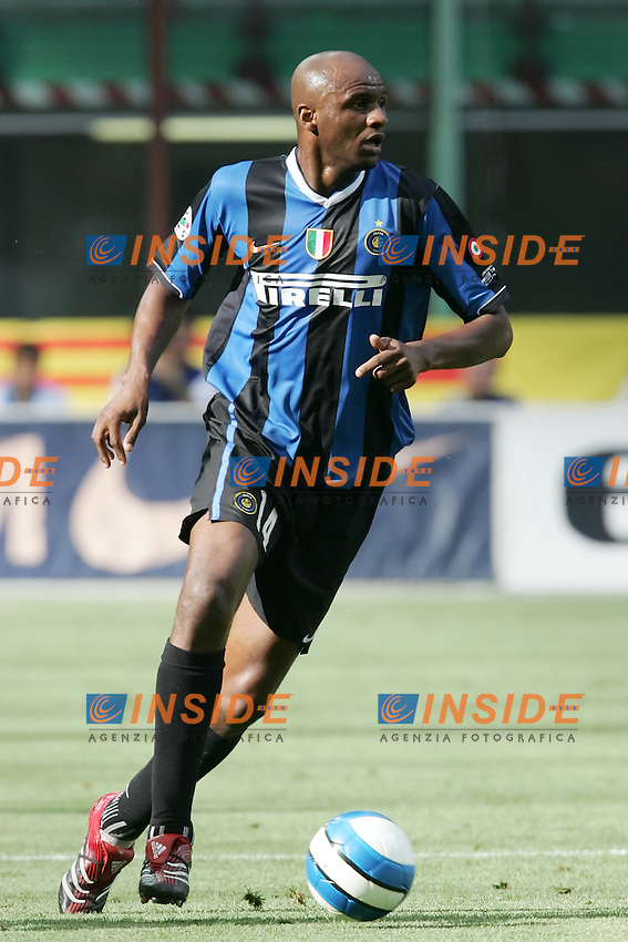 Patrick Vieira (Inter)<br /> Italy &quot;Tim Cup&quot; 2006-07 - Coppa Italia<br /> 17 May 2007 (Final 2st Leg)<br /> Inter-Roma (2-1) (a.r. 2-6)<br /> &quot;Giuseppe Meazza&quot; Stadium-Milano-Italy<br /> Photographer Andrea Staccioli INSIDE