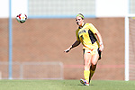 30 August 2013: Kennesaw State's Danielle Gray. The Duke University Blue Devils played the Kennesaw State University Owls at Fetzer Field in Chapel Hill, NC in a 2013 NCAA Division I Women's Soccer match. Duke won 1-0.