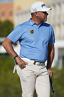 Lee Westwood (ENG) on the 9th, round 2 of the Portugal Masters, Dom Pedro Victoria Golf Course, Vilamoura, Vilamoura, Portugal. 25/10/2019<br /> Picture Andy Crook / Golffile.ie<br /> <br /> All photo usage must carry mandatory copyright credit (© Golffile | Andy Crook)
