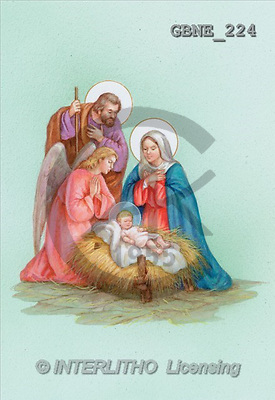 HOLY FAMILIES, paintings(GBNE224,#XR#) , Christo Monti