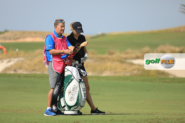 Ursula Wikstrom (SWE) during the first round of the Fatima Bint Mubarak Ladies Open played at Saadiyat Beach Golf Club, Abu Dhabi, UAE. 10/01/2019<br /> Picture: Golffile | Phil Inglis<br /> <br /> All photo usage must carry mandatory copyright credit (© Golffile | Phil Inglis)