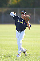 Sebastian Ruiz (48), from Diamond Bar, California, while playing for the Padres during the Under Armour Baseball Factory Recruiting Classic at Gene Autry Park on December 27, 2017 in Mesa, Arizona. (Zachary Lucy/Four Seam Images)