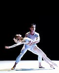 "English National Ballet's mixed bill ""A Million Kisses To My Skin"" Agnes Oaks, Thomas Edur"