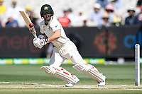 29th December 2019; Melbourne Cricket Ground, Melbourne, Victoria, Australia; International Test Cricket, Australia versus New Zealand, Test 2, Day 4; Matthew Wade of Australia plays the ball through the covers on the off side - Editorial Use