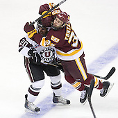 Greg Coburn (Union - 20), Justin Fontaine (Duluth - 37) - The University of Minnesota-Duluth Bulldogs defeated the Union College Dutchmen 2-0 in their NCAA East Regional Semi-Final on Friday, March 25, 2011, at Webster Bank Arena at Harbor Yard in Bridgeport, Connecticut.