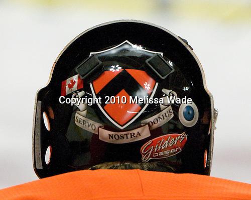 Alan Reynolds (Princeton - 34) - The Princeton University Tigers defeated the Harvard University Crimson 2-1 on Friday, January 29, 2010, at Bright Hockey Center in Cambridge, Massachusetts.
