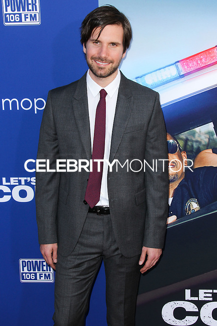 "HOLLYWOOD, LOS ANGELES, CA, USA - AUGUST 07: Jon Lajoie at the Los Angeles Premiere Of 20th Century Fox's ""Let's Be Cops"" held at ArcLight Cinemas Cinerama Dome on August 7, 2014 in Hollywood, Los Angeles, California, United States. (Photo by Xavier Collin/Celebrity Monitor)"