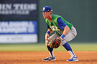 First baseman Fred Ford (19) of the Lexington Legends in a game against the Greenville Drive on Wednesday, June 4, 2014, at Fluor Field at the West End in Greenville, South Carolina. Lexington won, 9-3. (Tom Priddy/Four Seam Images)