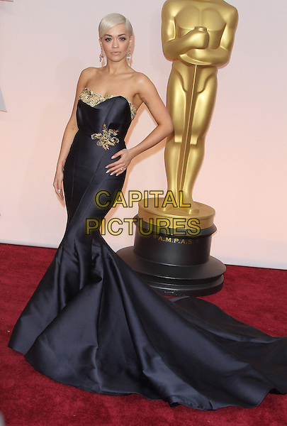 22 February 2015 - Hollywood, California - Rita Ora. 87th Annual Academy Awards presented by the Academy of Motion Picture Arts and Sciences held at the Dolby Theatre. <br /> CAP/ADM<br /> &copy;AdMedia/Capital Pictures Oscars