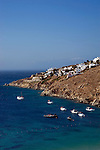 The island of Mykonos in Greece