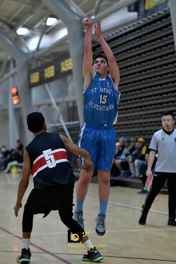College Basketball - Premier Championship at ASB Sports Centre, Wellington, New Zealand on Friday 1 July 2016. <br /> Photo by Masanori Udagawa. <br /> www.photowellington.photoshelter.com.