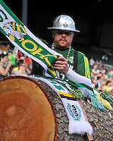 Portland Timbers vs Colorado Rapids during the MLS competition at Jeld-Wen Field, Portland Oregon, June 11 2011.  The Colorado Rapids defeated the Portland Timbers 1-0.