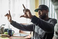 The Equalizer 2 (2018) <br /> Director Antoine Fuqua on the set of <br /> *Filmstill - Editorial Use Only*<br /> CAP/MFS<br /> Image supplied by Capital Pictures
