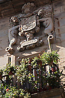 Europe/Espagne/Pays Basque/Guipuscoa/Goierri/Segura: La Casa Jauregi XVII ème siècle