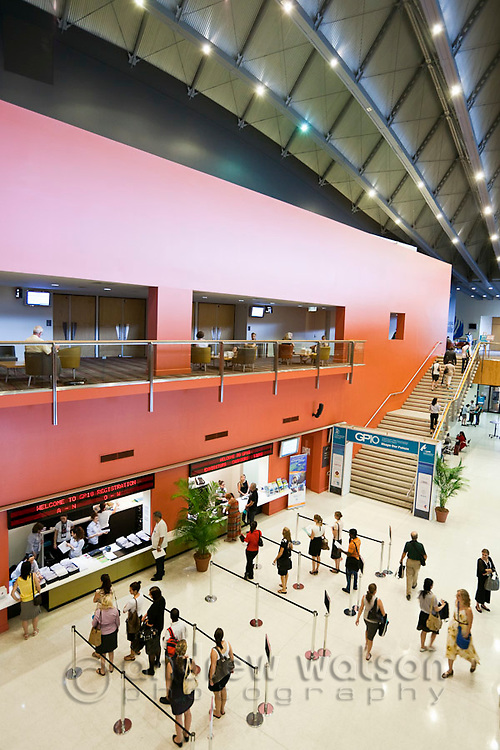Interior of Cairns Convention Centre.  Cairns, Queensland, Australia