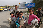 Kabul, Afghanistan; October 21, 2002 -- Boys, children on the street; people, portrait,  -- Photo: © HorstWagner.eu