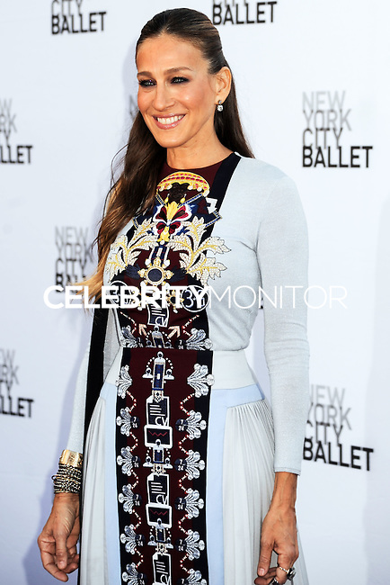 NEW YORK CITY, NY, USA - SEPTEMBER 23: Sarah Jessica Parker arrives at the New York City Ballet 2014 Fall Gala held at the David H. Koch Theatre at Lincoln Center on September 23, 2014 in New York City, New York, United States. (Photo by Celebrity Monitor)