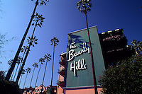 Famous Beverly Hills Hotel front in Los Angeles California home of many movie star