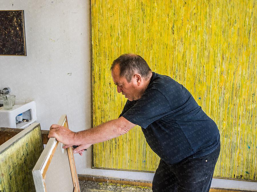 Vorarlberger Maler Richard Bösch.