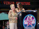 Halle Berry with her mother Judith Berry as she is  honored with  the 2,333rd Star on the Hollywood walk of Fame Hollywood, Ca..April 3, 2007. Fitzroy Barret