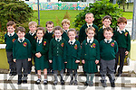 Mrs Cora Doody's Junior Infants from SCARTAGLIN New Cent SC on their first week. Pictured Brian McShane, Brigh Harkin, Caoimhe Fleming, Ciara O'Donoghue, Fionn Browne, Frank Salmon, Liam O'Connor, Loren Caldwell, Mark Herlihy, Matthew O'Sullivan, Olly O'Shea, Se O'Donnell, Sean Kerin