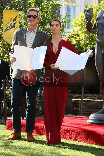 Matthew Modine, Angela Sarafyan<br /> at the Greet the Actor Statue - SAG Event, The Grove, Los Angeles, CA 01-25-17<br /> David Edwards/DailyCeleb.com 818-249-4998
