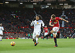 Manchester United's Daley Blind scoring his sides opening goal during the Premier League match at Old Trafford Stadium, London. Picture date December 26th, 2016 Pic David Klein/Sportimage