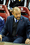 Valencia CF´s coach Nuno Espirito Santo during 2014-15 La Liga match between Atletico de Madrid and Valencia CF at Vicente Calderon stadium in Madrid, Spain. March 08, 2015. (ALTERPHOTOS/Luis Fernandez)