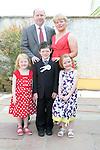 Francis McCarthy's Son Communion