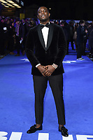 "Junior Afolabi<br /> arriving for the ""Blue Story"" premiere at the Curzon Mayfair, London.<br /> <br /> ©Ash Knotek  D3534 14/11/2019"