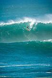 USA, Hawaii, Oahu, the North Shroe, big wave wipeout at Waimea Bay