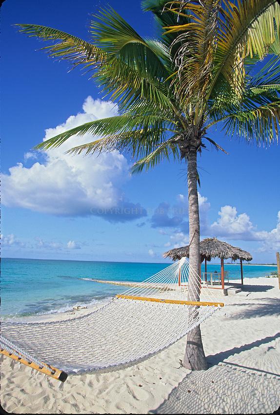 Hammock at Hawksnet Resort, Cat Island, Bahamas, Out Islands