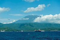 Bali's sacred mountain, Gunung Agung.