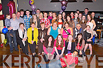 KEY TO THE DOOR: Julia Lyne, Station Road, Ardfert (seated 5th left) enjoying a great time celebrating her 21st birthday with family and friends at the Abbeygate hotel, Tralee on Friday.
