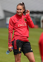 20200605 - TUBIZE , Belgium : Tessa Wullaert is pictured during a training session of the Belgian national women's soccer team called the Red Flames during their after Corona – Covid training week, on the 5 th of June 2020 in Tubize.  PHOTO SEVIL OKTEM| SPORTPIX.BE