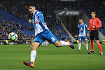 League Santander 2017-2018 - Game: 24.<br /> RCD Espanyol vs Villarreal CF: 1-1.<br /> Gerard Moreno.