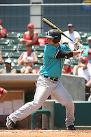 Coastal Carolina University Chanticleers 3rd baseman Scott Woodward #10 at bat during an NCAA Regional elimination game vs. the Stony Brook University Seawolves at BB&T Coastal Field in Myrtle Beach, South Carolina on June 6, 2010. Coastal Carolina defeated Stony Brook by the score of 25-7.  Photo By Robert Gurganus/Four Seam Images