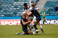 Photo: Richard Lane/Richard Lane Photography. London Broncos v Hull FC. Stobart Super League. 20/05/2012. Hull's Willie Manu attacks.