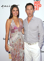 "17 June 2017 - Culver City, California - Jeffrey Donovan, Michelle Woods. ""Shot Caller"" Premiere during the 2017 Los Angeles Film Festival. Photo Credit: F. Sadou/AdMedia"