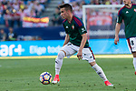 Alex Berenguer of Club Atletico Osasuna during the match of La Liga between  Atletico de Madrid and Club Atletico Osasuna at Vicente Calderon  Stadium  in Madrid, Spain. April 15, 2017. (ALTERPHOTOS / Rodrigo Jimenez)