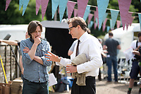 The Mercy (2018)  <br /> James Marsh (Director), Colin Firth<br /> *Filmstill - Editorial Use Only*<br /> CAP/KFS<br /> Image supplied by Capital Pictures
