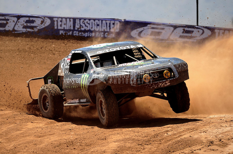 Apr 15, 2011; Surprise, AZ USA; LOORRS driver Rick Huseman (36) during round 3 and 4 at Speedworld Off Road Park. Mandatory Credit: Mark J. Rebilas-.